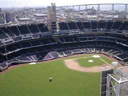 View of the Petco stadium