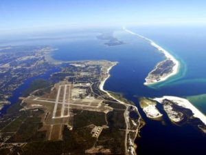 Aerial view of Pensacola